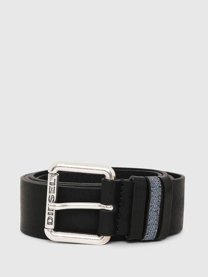 Diesel - B-DENOOP, Negro - Cinturones - Image 1