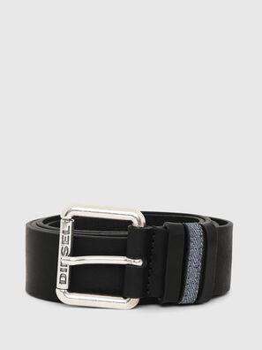 B-DENOOP, Negro - Cinturones