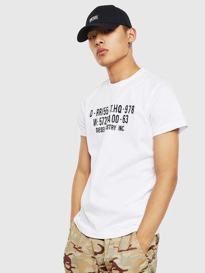 Diesel - T-DIEGO-S2, Blanco - Camisetas - Image 1