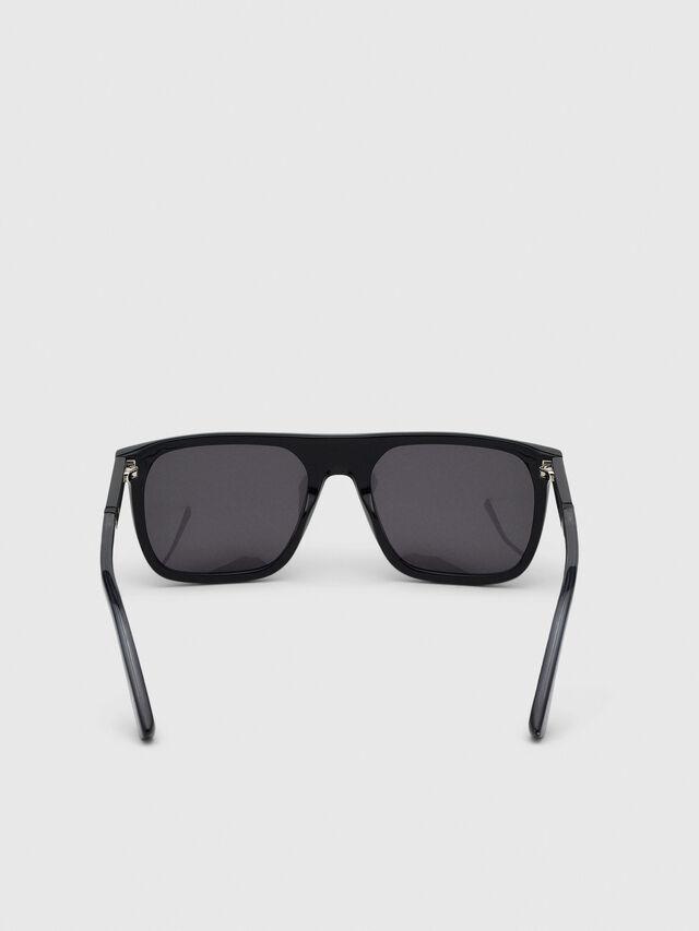 Diesel - DL0299, Negro/Gris - Gafas de sol - Image 4