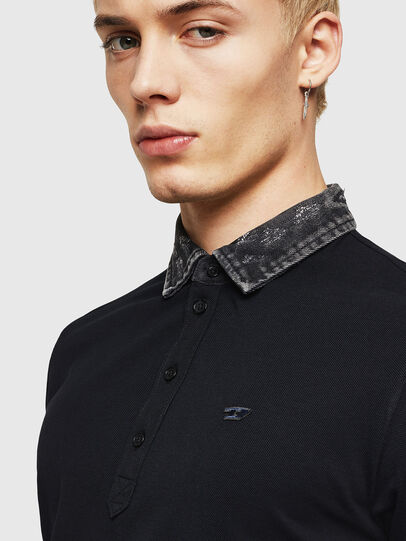 Diesel - T-MILES-NEW, Negro - Polos - Image 3
