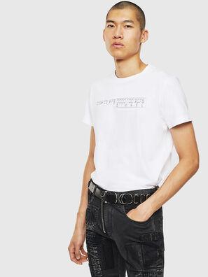 T-DIEGO-SLITS-J6, Blanco - Camisetas