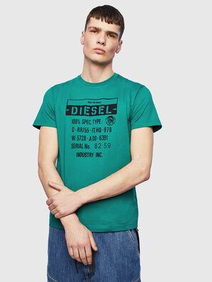 T-DIEGO-S1, Verde - Camisetas