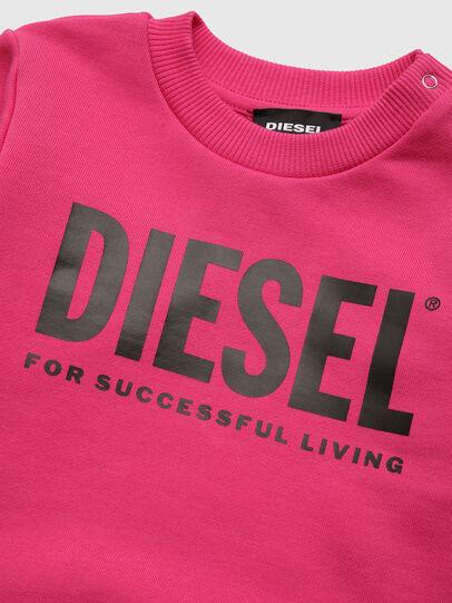Diesel - SCREWDIVISION-LOGOB, Rosa - Sudaderas - Image 3
