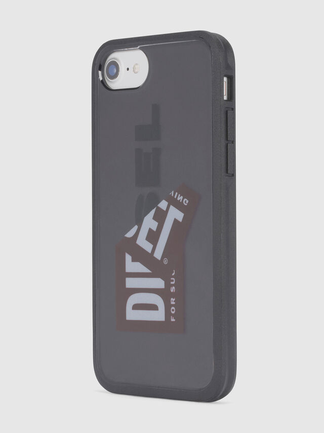 Diesel - STICKER IPHONE 8/7/6S/6 CASE, Negro - Fundas - Image 4