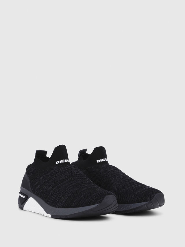 Diesel - S-KB ATHL SOCK, Negro - Sneakers - Image 2