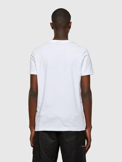 Diesel - T-DIEGOS-SMALLOGO, Blanco - Camisetas - Image 2