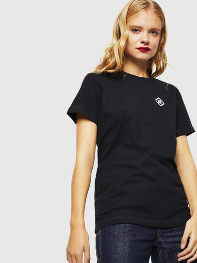 Diesel - CC-T-DIEGO-COLA, Negro - Camisetas - Image 3