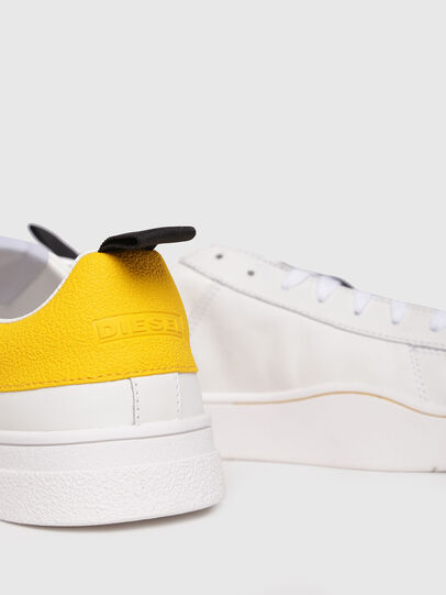Diesel - S-CLEVER LOW, Blanco/Amarillo - Sneakers - Image 4