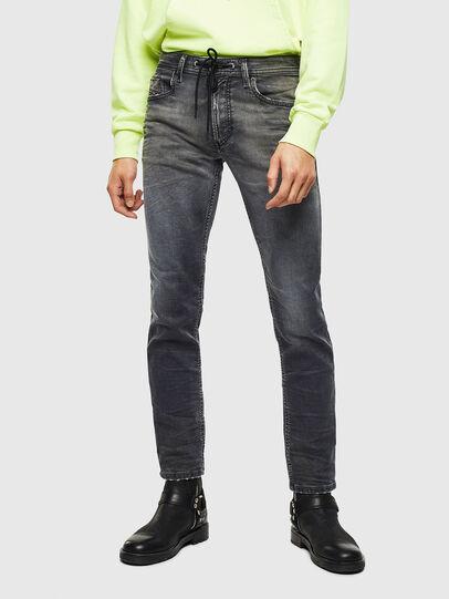Diesel - Thommer JoggJeans 069KK, Negro/Gris oscuro - Vaqueros - Image 1