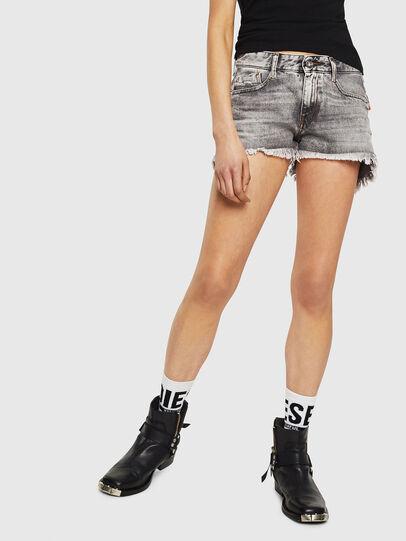 Diesel - DE-RIFTY, Gris Claro - Shorts - Image 1
