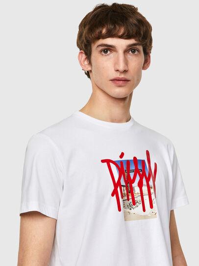 Diesel - T-DIEGOS-B9, Blanco - Camisetas - Image 3
