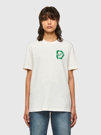 Diesel - T-JUST-N40, Blanco - Camisetas - Image 2