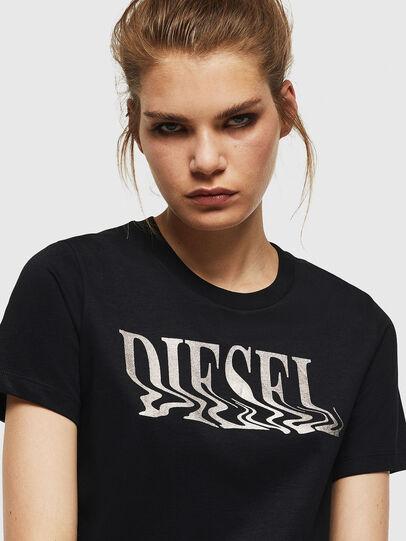 Diesel - T-SILY-WN, Negro - Camisetas - Image 3