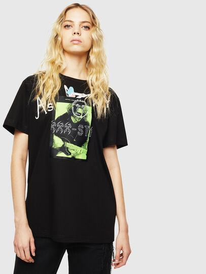 Diesel - T-DARIA-Y, Negro - Camisetas - Image 1
