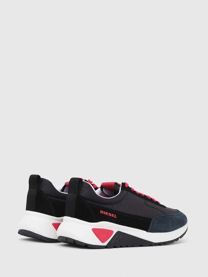 Diesel - S-KB LOW LACE, Negro/ Rojo - Sneakers - Image 3