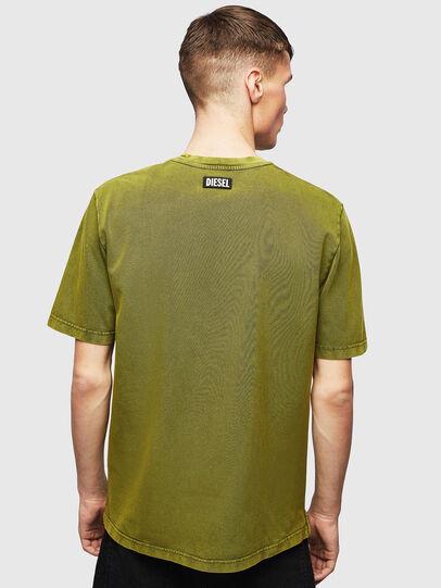 Diesel - T-JUST-SLITS-T15, Amarillo - Camisetas - Image 2