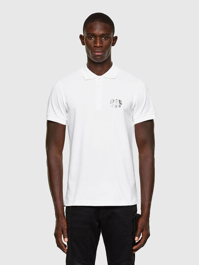 Diesel - T-RANDY-NEW-A2, Blanco - Polos - Image 1