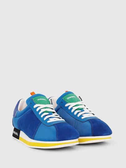 Diesel - S-PYAVE LC, Azul Brillante - Sneakers - Image 2