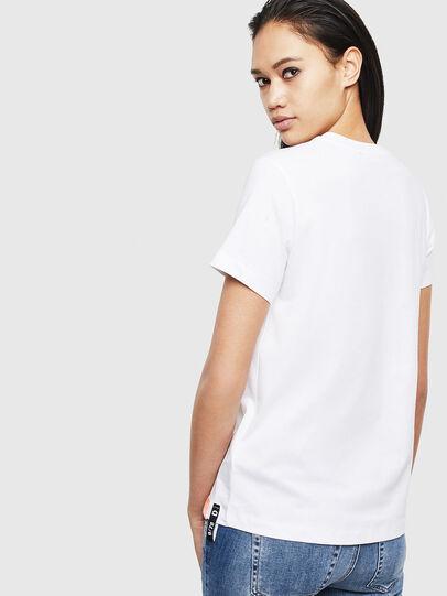 Diesel - T-SILY-S8, Blanco - Camisetas - Image 2