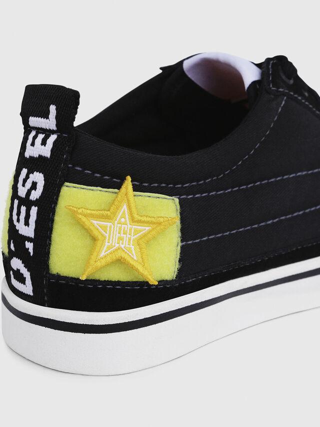 Diesel - D-VELOWS LOW PATCH W, Negro - Sneakers - Image 4