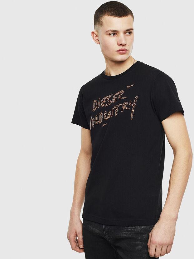 T-DIEGO-S15, Negro - Camisetas