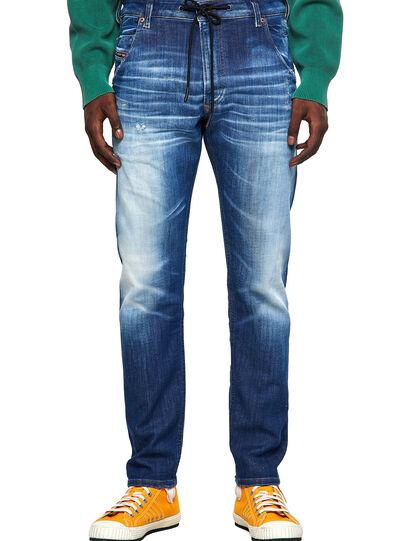 Diesel - Krooley JoggJeans® 09B52, Azul medio - Vaqueros - Image 1
