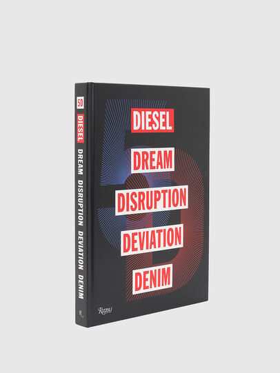Diesel - 5D Diesel Dream Disruption Deviation Denim, Negro - Libros - Image 1