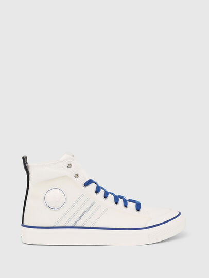 Diesel - S-ASTICO MC H, Blanco/Azul - Sneakers - Image 1