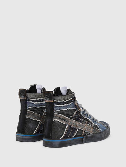 Diesel - D-VELOWS MID LACE, Negro/Azul - Sneakers - Image 3