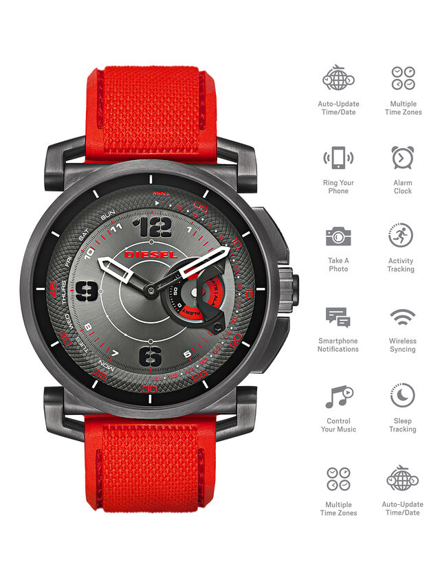 Diesel - DT1005, Rojo - Smartwatches - Image 1