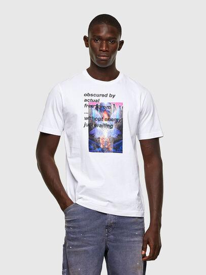 Diesel - T-JUST-A43, Blanco - Camisetas - Image 1