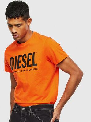 T-DIEGO-LOGO, Naranja - Camisetas
