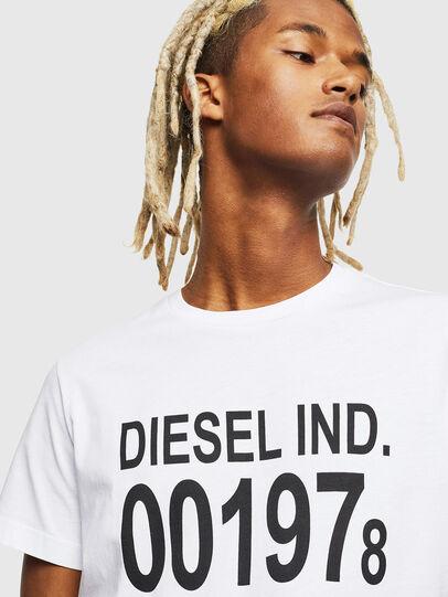 Diesel - T-DIEGO-001978, Blanco - Camisetas - Image 4