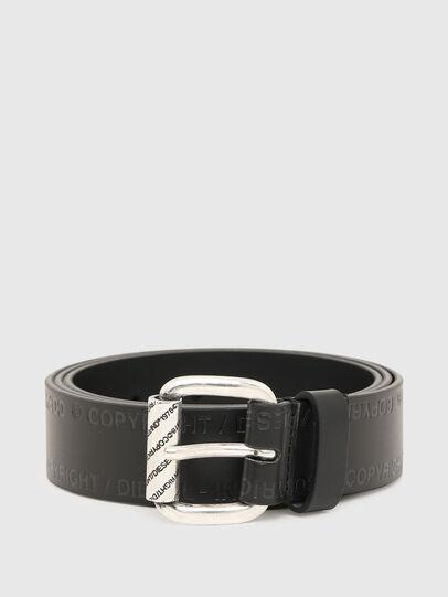 Diesel - B-FULCOPY, Negro - Cinturones - Image 1