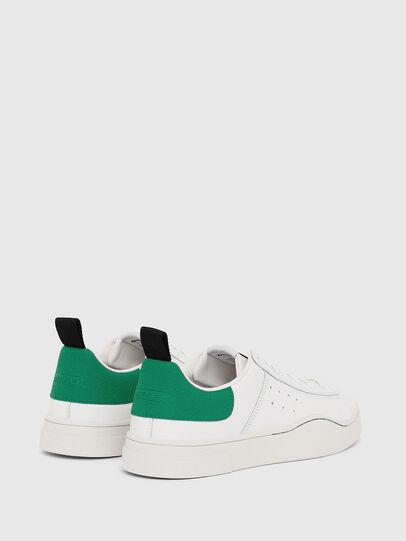 Diesel - S-CLEVER LOW, Blanco/Verde - Sneakers - Image 3