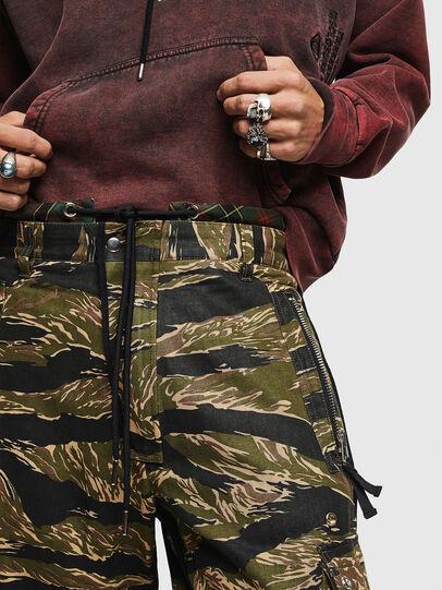 Diesel - P-LUZAVIC-TIGERCAM, Verde Militar - Pantalones - Image 4