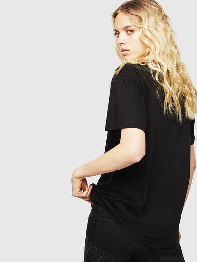 Diesel - T-DARIA-Y, Negro - Camisetas - Image 2
