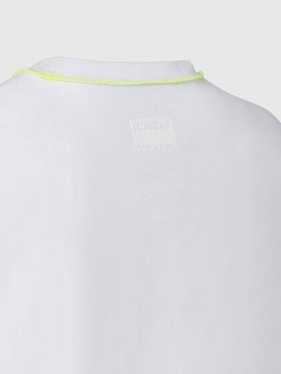 Diesel - T-JUSEAM, Blanco - Camisetas - Image 4
