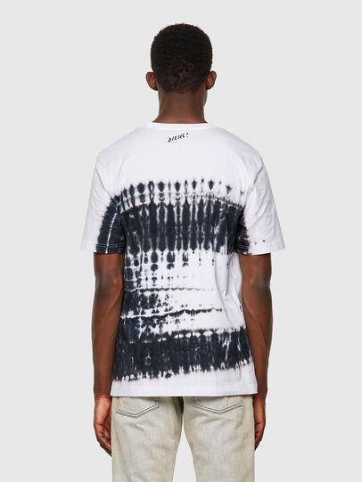 Diesel - T-JUST-B51, Blanco - Camisetas - Image 2