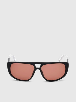 DL0300, Negro/Blanco - Gafas de sol