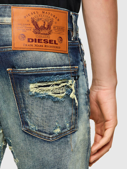 Diesel - D-Kras 009VI, Azul Claro - Vaqueros - Image 3