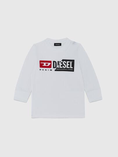 Diesel - TDIEGOCUTYB ML-R, Blanco - Camisetas y Tops - Image 1