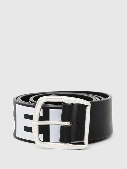 Diesel - BARBAR, Negro/Blanco - Cinturones - Image 1