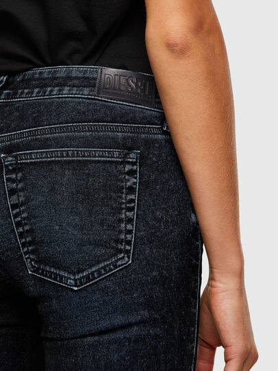Diesel - D-Ollies JoggJeans® 069UH, Negro/Gris oscuro - Vaqueros - Image 4