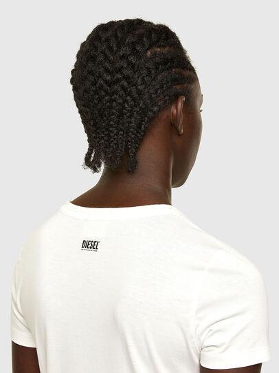 Diesel - T-SOAL-R1, Blanco - Camisetas - Image 4