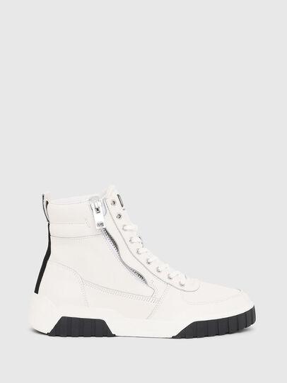 Diesel - S-RUA MID, Blanco - Sneakers - Image 1