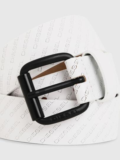 Diesel - B-SOLESINO, Blanco - Cinturones - Image 2