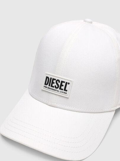 Diesel - CORRY-GUM, Blanco - Gorras - Image 3