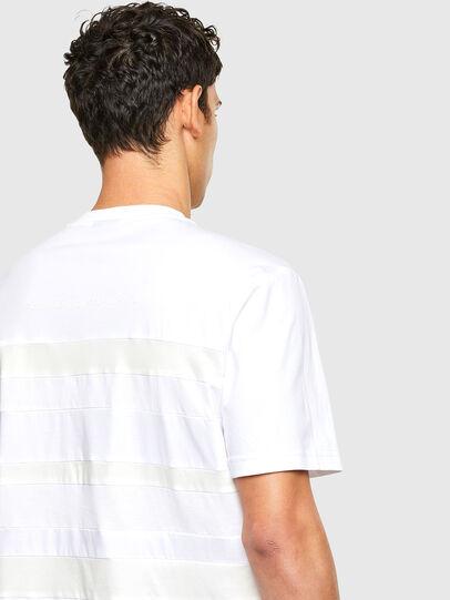 Diesel - T-LOUD, Blanco - Camisetas - Image 3
